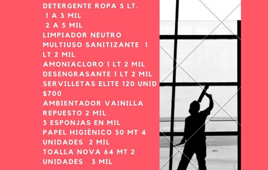PRODUCTOS DE LIMPIEZA A TU CASA