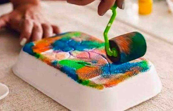 Juegos de arte con reciclado