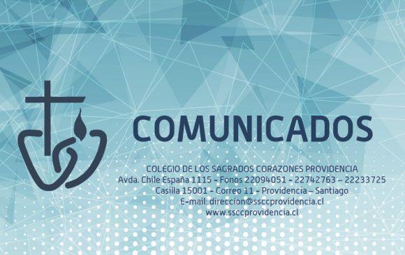 COMUNICADO 30 DE JULIO DE 2020