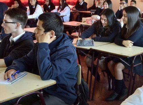 Carta del Padre Andrés Moro, Vicario para la Educación, a estudiantes de cuarto medio