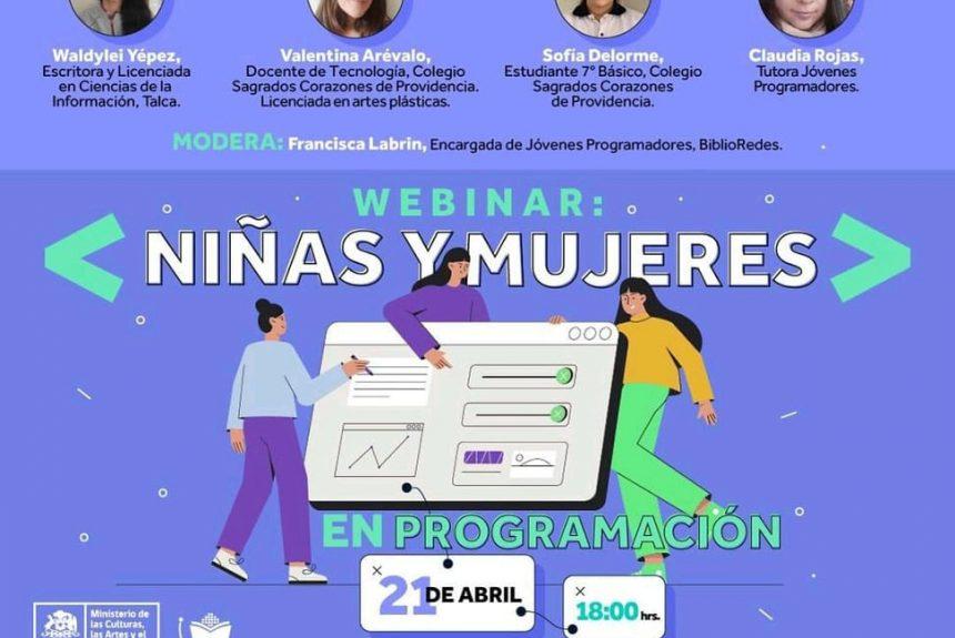 """Seminario """"Niñas y mujeres en programación"""""""